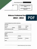 Bitacora Profesional Docente