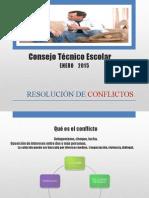 Resolusión de  Conflictos Enero 2015