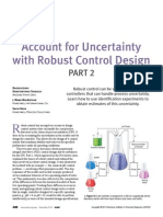 Account for uncertainty with robust control design 2