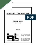 Technical Manual -Power Amplifier 1300
