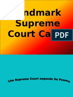 landmark supreme court cases from class