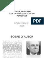 Apresentação sobre o livro Ciência Ambiental - Miller Jr