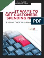 5 Best Ways to Get Customers Spending Now