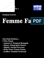 M&M Superlink 2Ed - OMNI-Database 1 - Femme Fatale