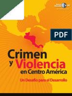 Crimen y Violencia en Centroamerica-Banco Mundial