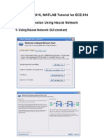 Matlab Neural Network