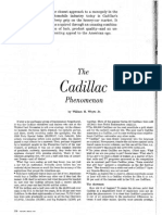 The Cadillac Phenomenon