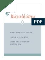 Bitacora Del Sistema (Presentacion)