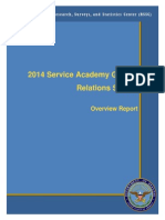 2014 Service Academy Gender Relations Survey (Executive Summary)