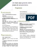Plaquette Université Conférences Février2015