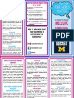 PDF of Univ. of Michigan's Inclusive Language campaign