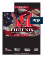 Phoenix 2014 Retail Price List