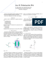 Practica 1- Polarizacion JFet Mosfet