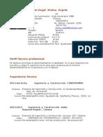 Curriculum Enero 2015 Actualizado (1)