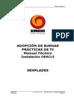 ITSM- Manual Técnico - Instalación ORACLE (1)