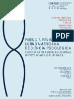 Revista Psiencia 2012