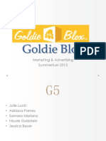 Goldie Blox Marketing Report