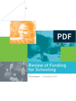 Review of Funding for Schooling Final Report Dec 2011