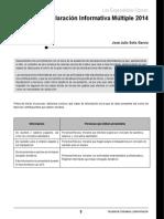 611 01 Declaración Informativa Múltiple 2014