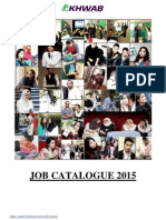 KHWAB's Job Catalogue 2015