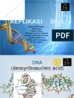 Mekanisme Replikasi DNA Dan Biosintesis RNA