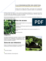 Biotopo Para La Conservación Del Quetzal