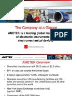 AMETEK Overview