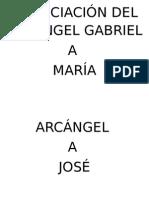 Anunciación Del Arcángel Gabriel