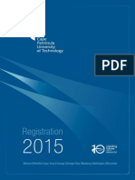 Registration Booklet 2015