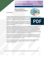 Sox Internal Controls Checklist