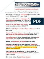 Zaid Hamid s Past Present a Research Work