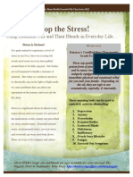 Stop the Stress OrganicHomeHealth1