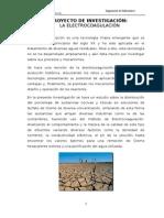 ELECTROCOAGULACION, Un proceso lleno de ventajas y beneficios para limpiar nuestras Aguas