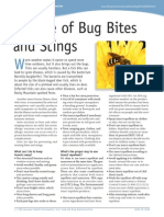 Beware Bug Bites Stings