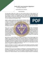 Alquimico, La Transmision Del Conocimiento 1 - Ene92 - Timothy ONeill, F.R.C.