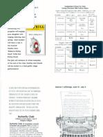 2015 Camp Plumeria Catalog of Classes