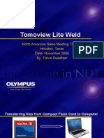 Tomoview Lite Weld - Simple Analysis and Reporting (FILEminimizer)