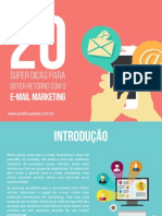 20 Super Dicas Email Marketing