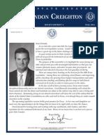 Fall 2014 Legislative Report