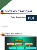 Sintaxis Oracional Latina