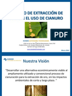 DST_Proceso de Extraccion de Au Sin Cianuro_Nicaragua 2014