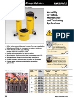 Enerpac RRH-Series, Hollow Plunger Cylinders