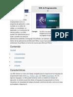 IDE de Programación