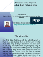 Vietnam 2.55:Cấu trúc bài báo nghiên cứu