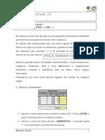Funções lógicas - Excel - Aula 13