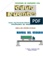 MODULO PUENTES DE CONCRETO (SPANISH VERSION)