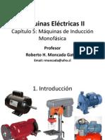 Máquina de Inducción Monofásica