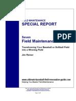 Seven Field Maintenance Secrets