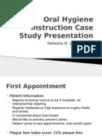 oral hygiene instruction case study presentation nlondon