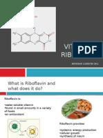 natasha london vitamin b2, riboflavin